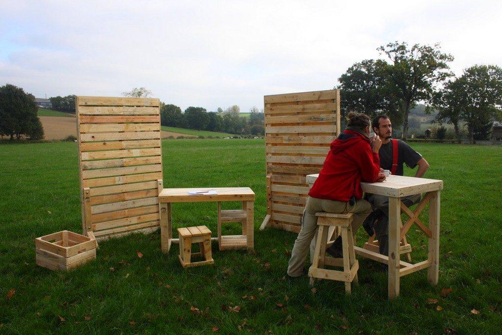 Les boby's et leurs créations en bois de palettes revalorisées